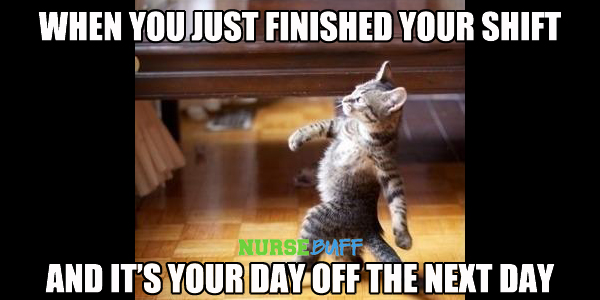nursing meme day off