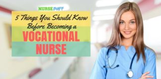 vocational nurse