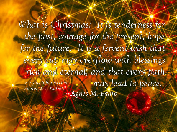 Inspirational Christmas Quotes Peace