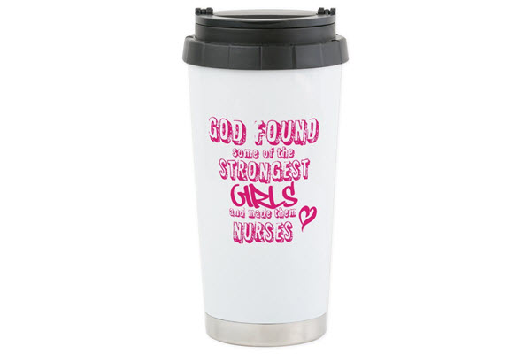 nurse coffee tumbler