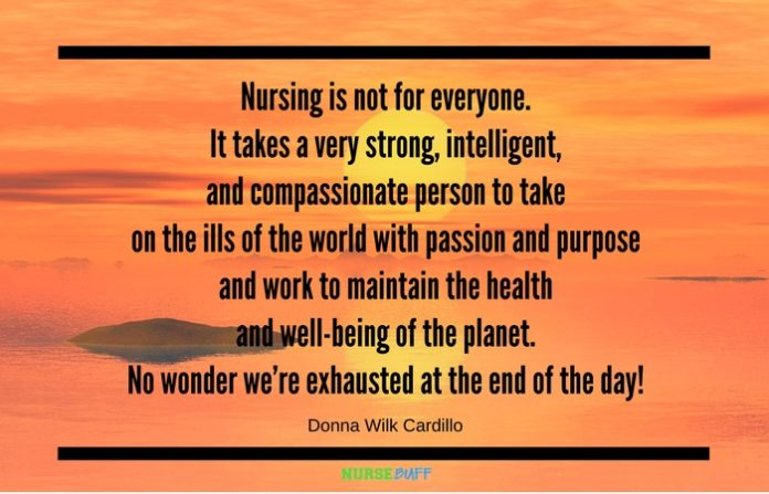 Todays Quote Not For Everyone Nursebuff