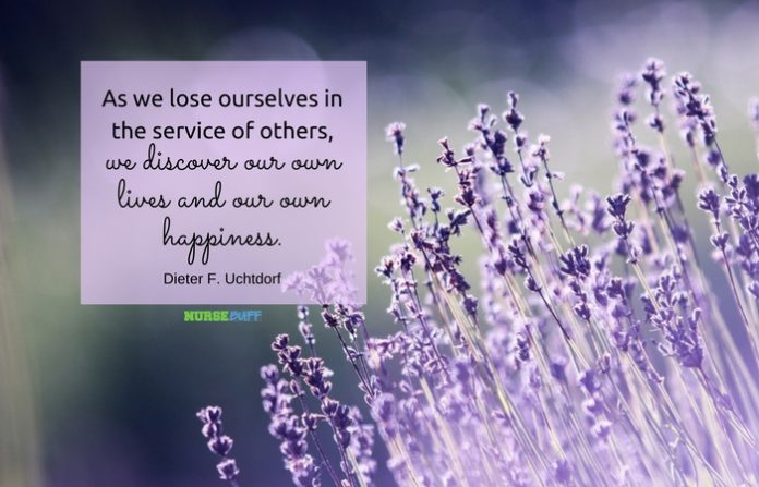nursing quote life and happiness