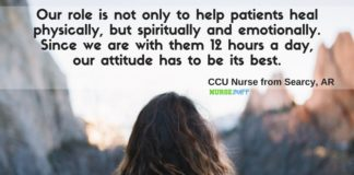 nurse quote helping patients