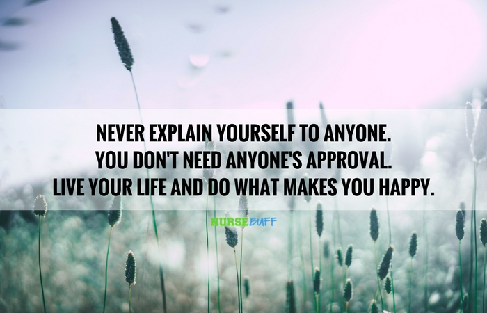 Todays Quote Live Your Life Nursebuff