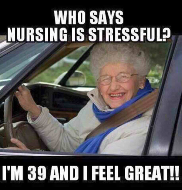nurse stress humor