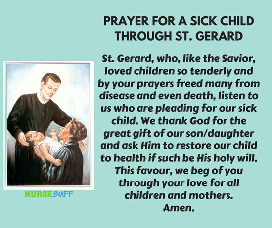 8 Miracle Prayers For A Sick Child - NurseBuff