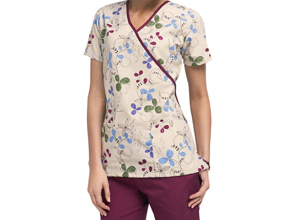 scrub suits with print