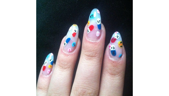 Mini-Pills-On-Opaque-Nails