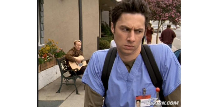 scrub suits depicted in tv