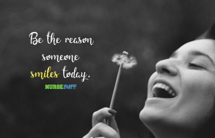 nursing quote nurse smile