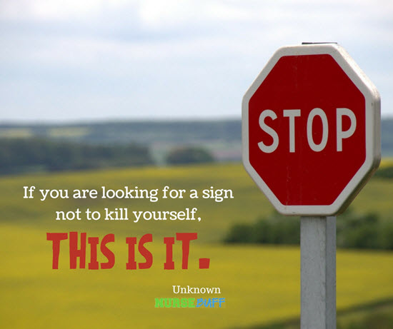 15 Inspiring Quotes For Suicide Prevention Week Nursebuff