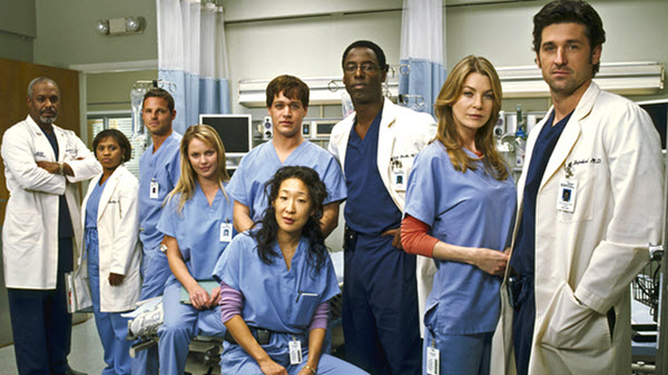 greys anatomy medical tv shows