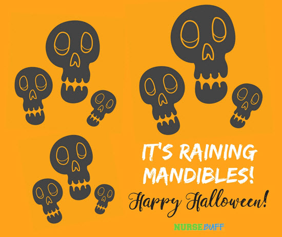 halloween greetings mandibles