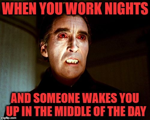 night shift memes dracula