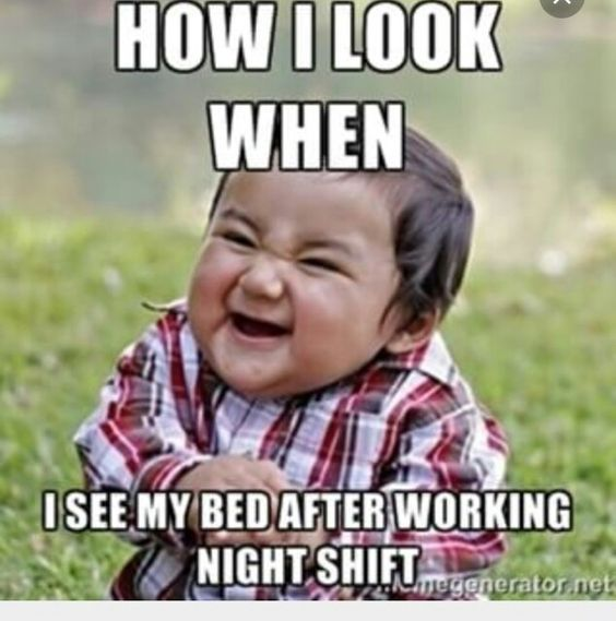 night shift memes kid