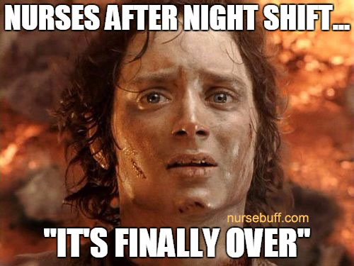 nurses after night shift memes