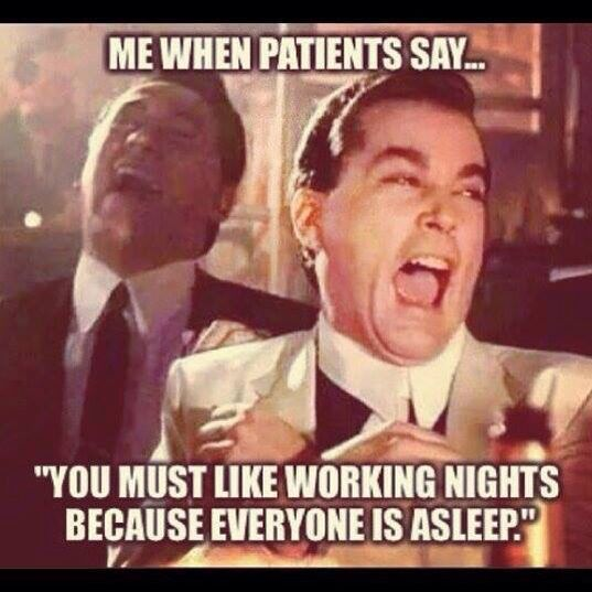 you must like night shift memes