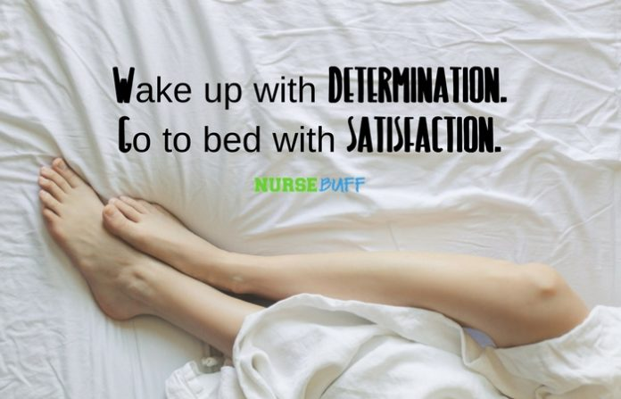 nurse quote determination and satisfaction