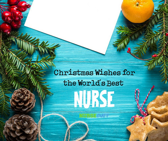 christmas holiday greetings for nurses