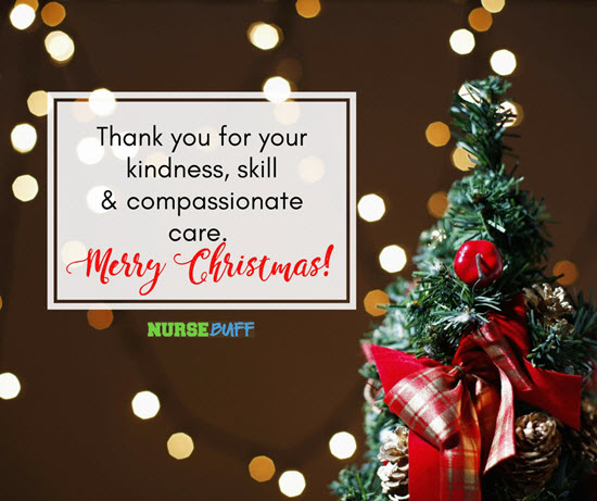 inspirational christmas greetings for nurses