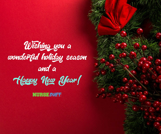 very nice christmas greetings for nurses