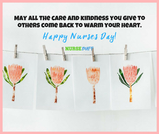 Greet your fellow nurses with these nurses week greeting cards happy nurses day cards m4hsunfo Choice Image