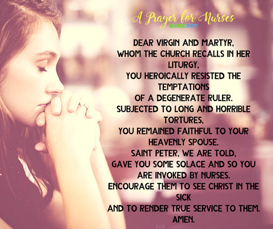 prayer for nurses