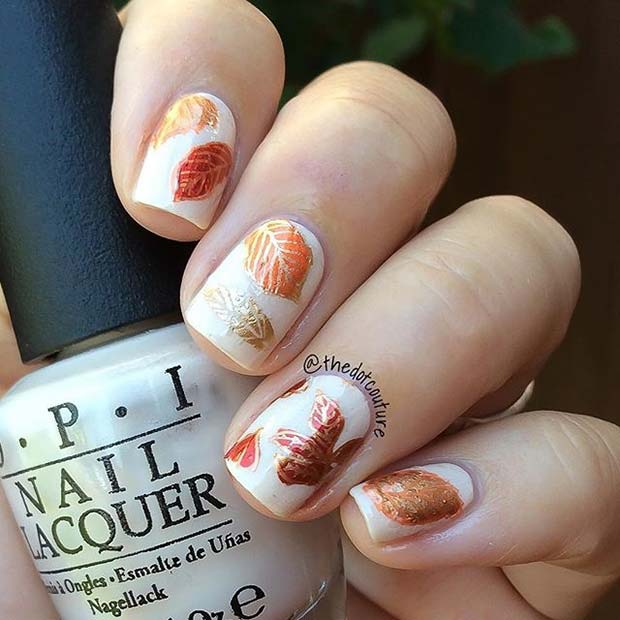 10 Must,Try Thanksgiving Nail Ideas for Nurses , NurseBuff