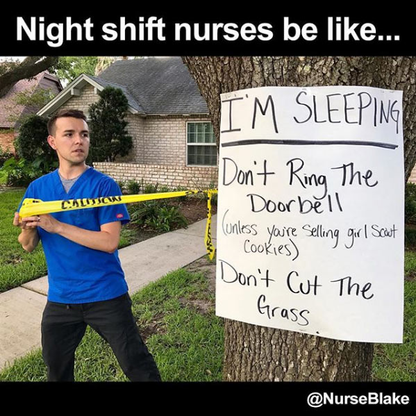 night shift meme