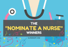 the nominate a nurse winners
