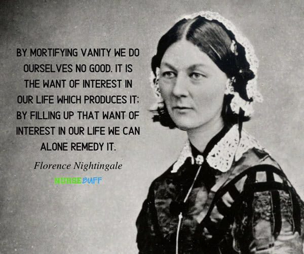 florence nightingale life quotes