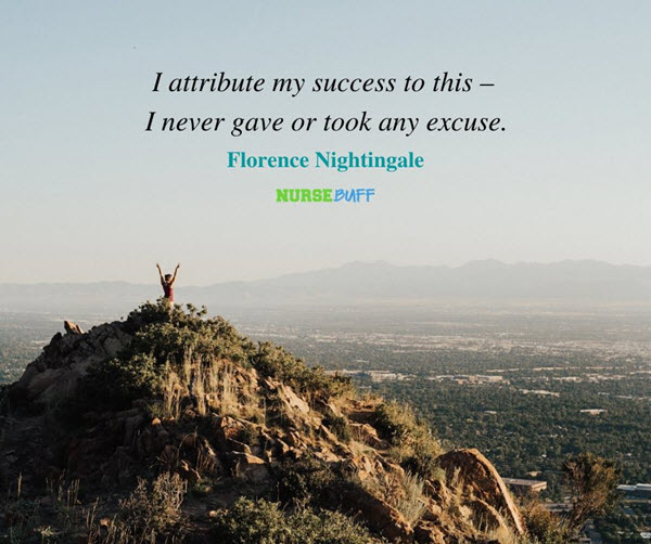 florence nightingale success quotes