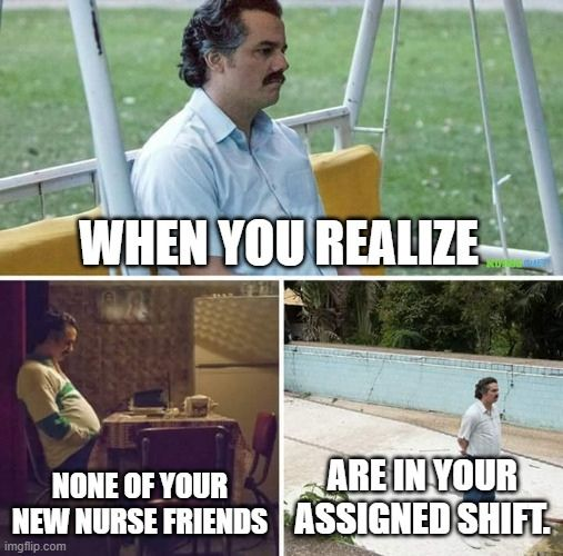 new nurse friends meme