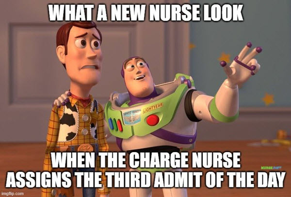 new nurse look meme