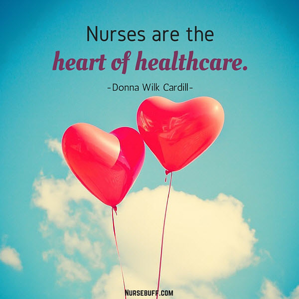 nursing heart of healthcare quotes